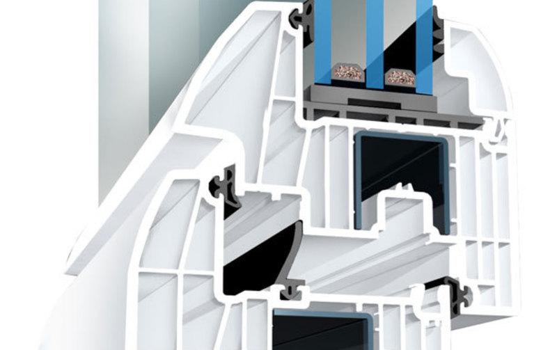 Ventanas de PVC con perfiles de 6 y 8 cámaras